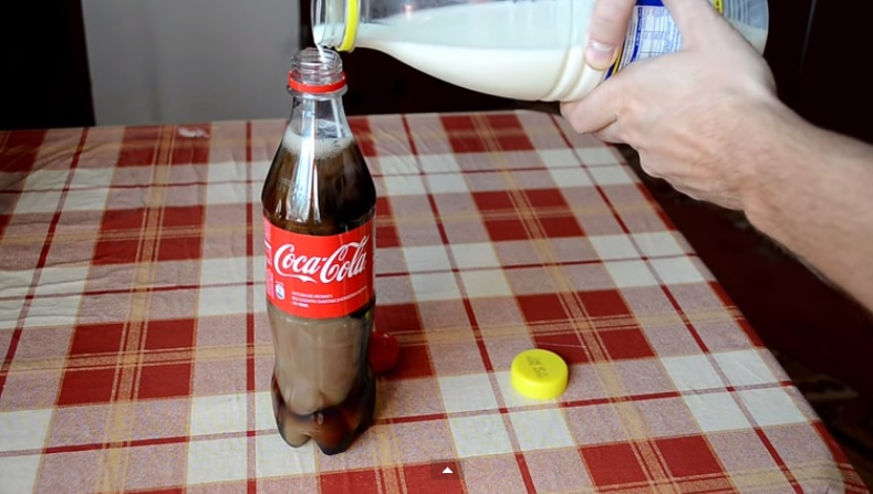 coca cola lait