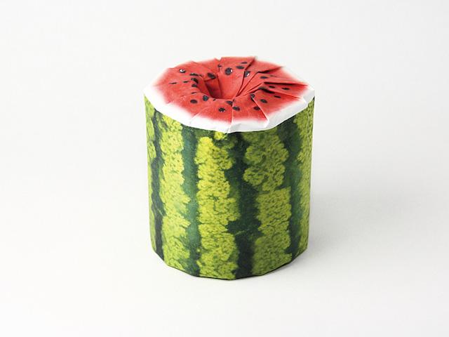 papier toilette fruits