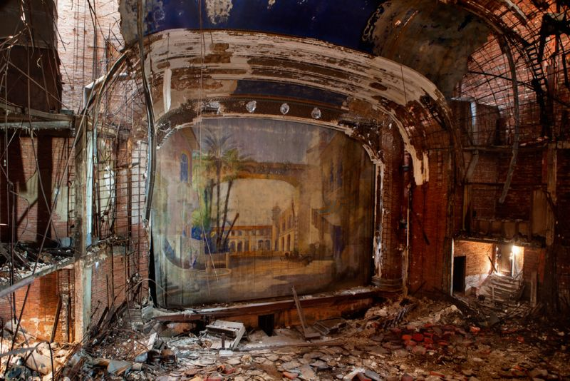 Théâtre abandonné