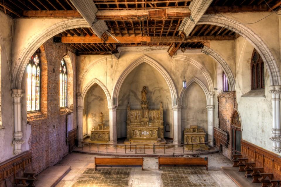 école abandonnée Saint Frances de Sales