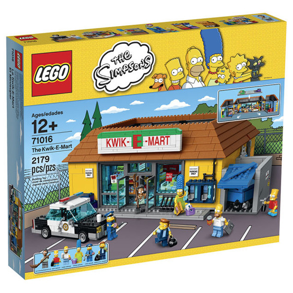 kwik-e-mart LEGO Simpsons