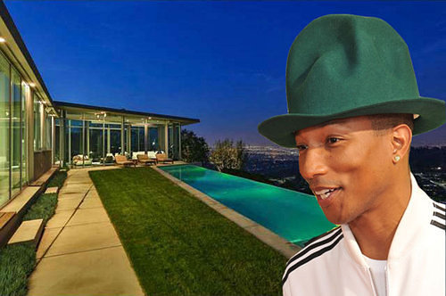 maison de Pharrell Williams
