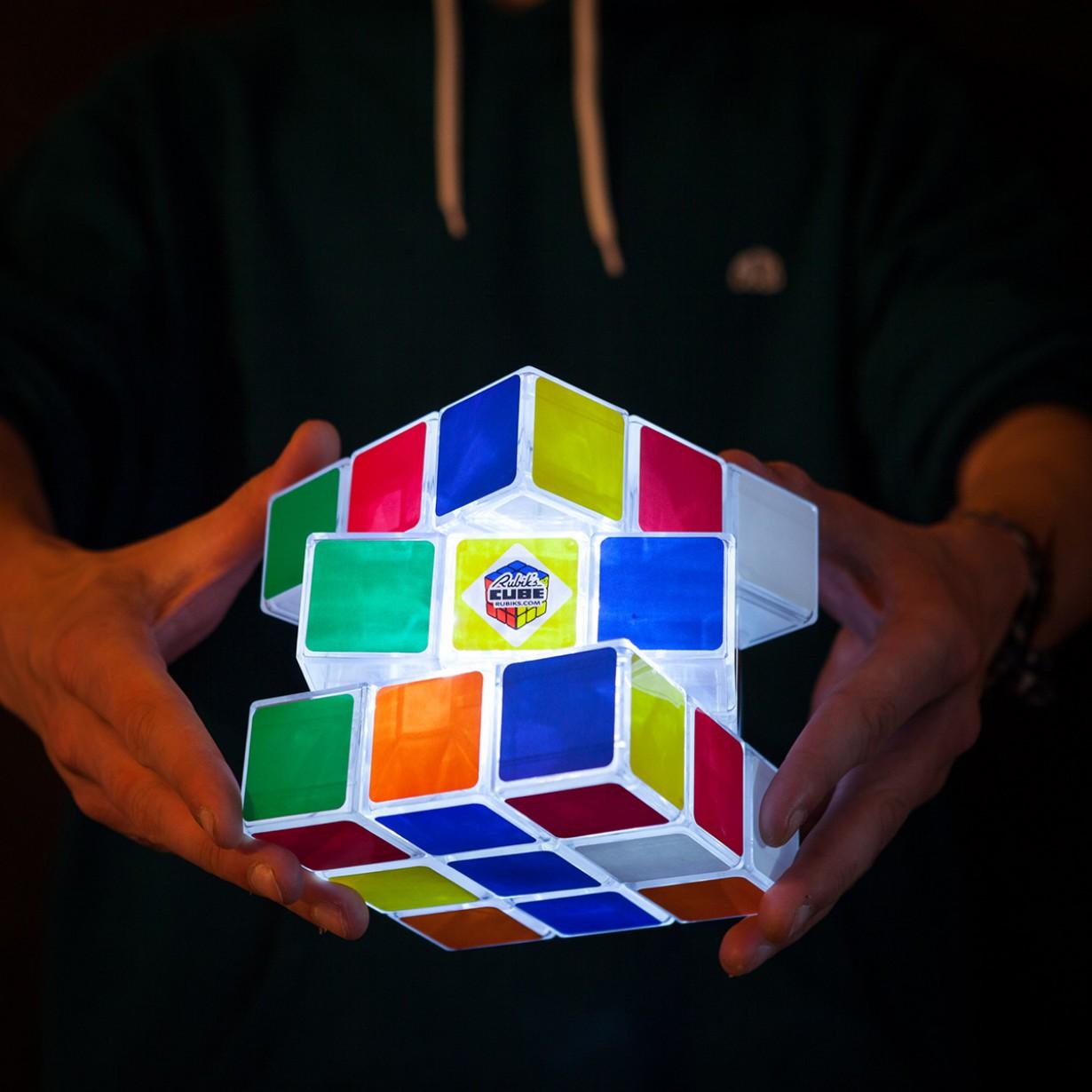 Rubbik's Cube lumineux