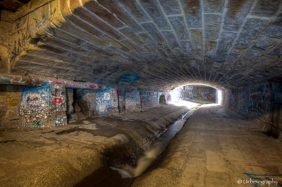 Urbex Tasmanie tunnels Hobart