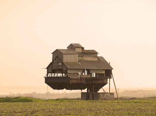 bâtiments abandonnés urbex Russie rurale