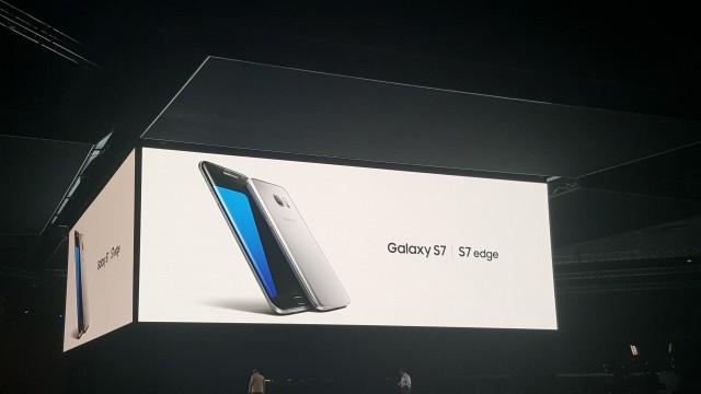 Unpacked MWC Samsung Galaxy S7 Edge