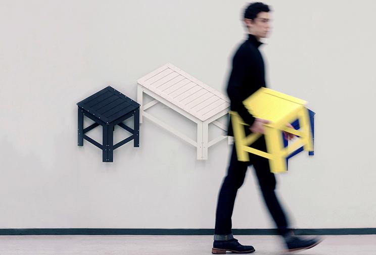 Flat-Pack meuble De-Dimension Jongha Choi