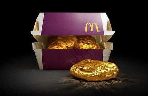 Golden Chicken McNugget