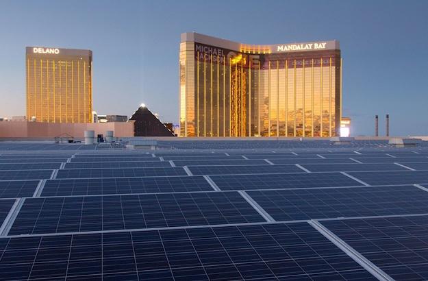 plus grand toit solaire au monde