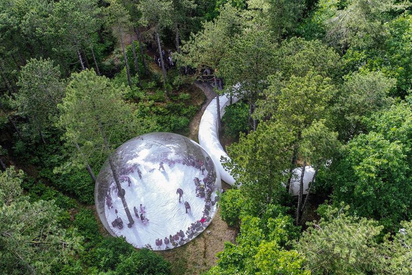 bulles gonflables géantes