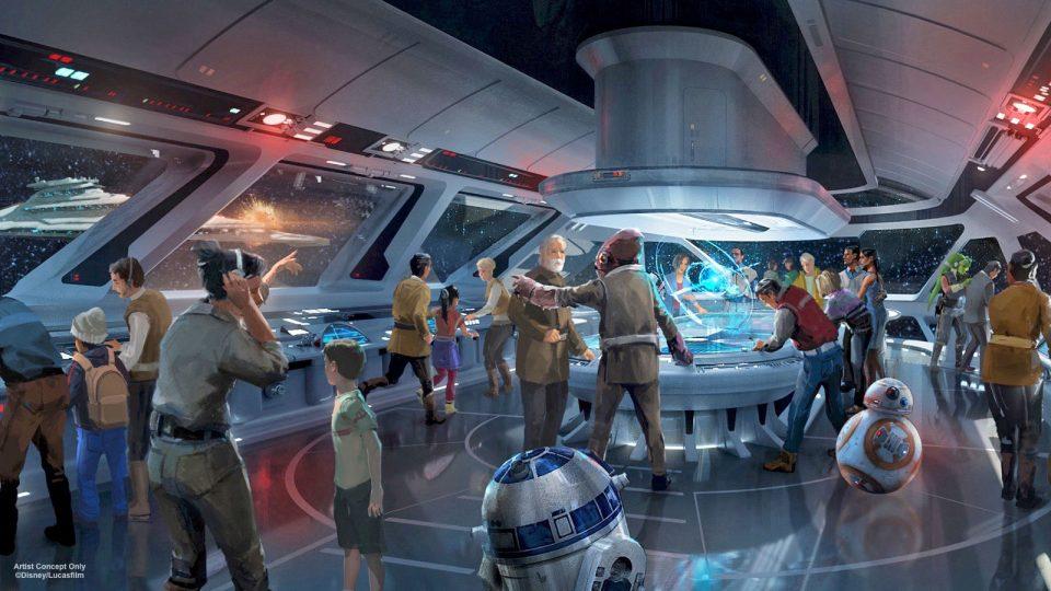 hôtel Star Wars de Disney