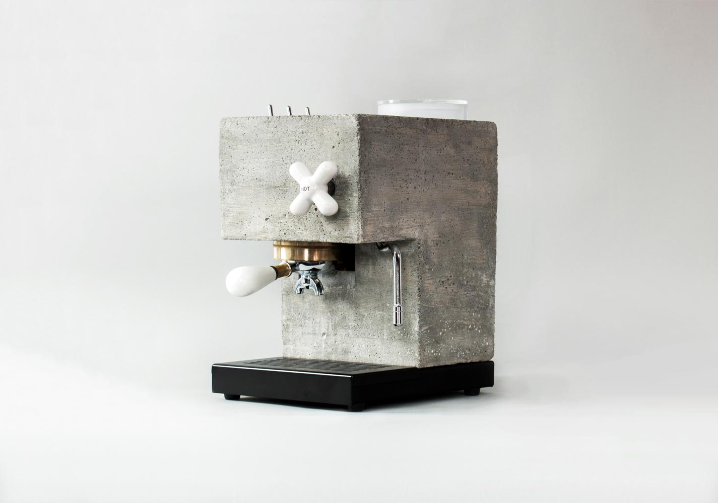 AnZa machine à café design en béton