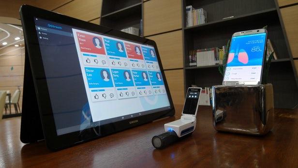GoBreath Samsung C-Lab