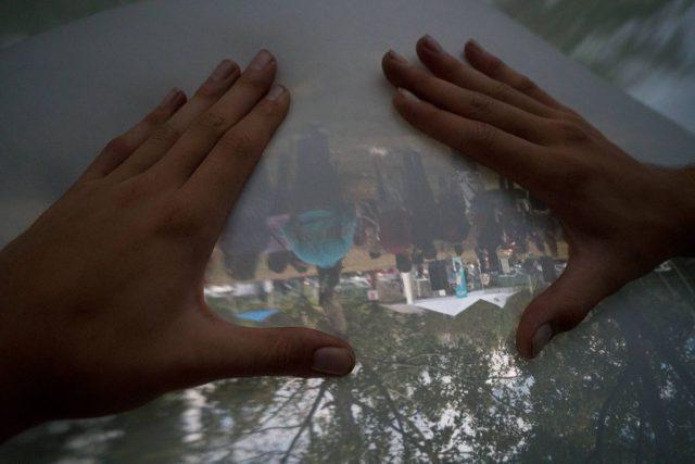 Compound Camera – Ce dôme gonflable est en fait une caméra géante sténopé