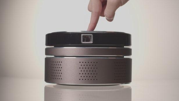 N-Tech - Un projecteur 4K bon marché, tout-en-un, portable, sans fil, empilable et intelligent