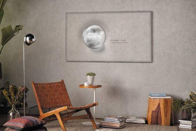 QLED La nouvelle télévision Samsung utilise des algorithmes pour être invisible
