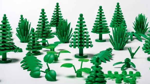 Le Sustainable Materials Centre de Lego lance des briques plastiques végétales durables