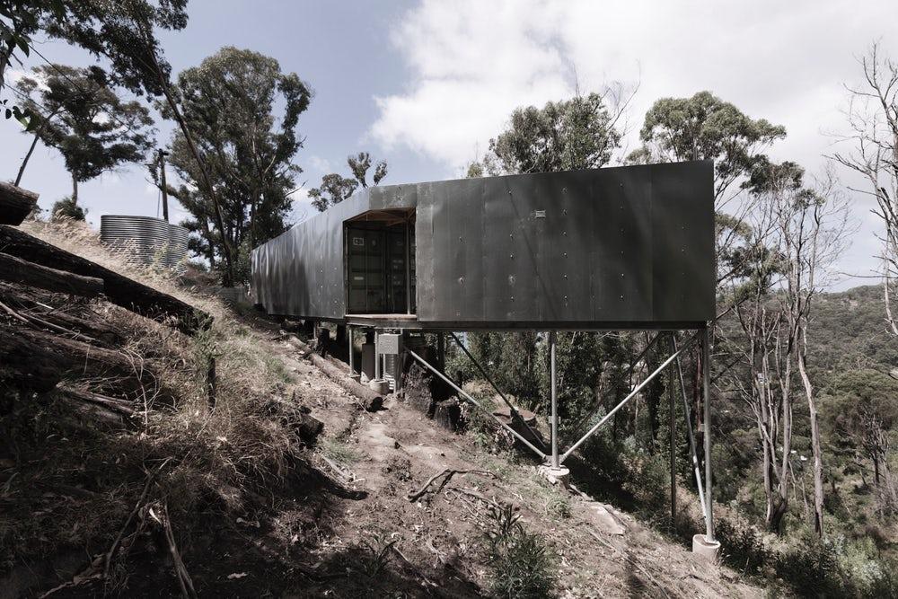 Studio Edwards imagine une maison composée de conteneurs
