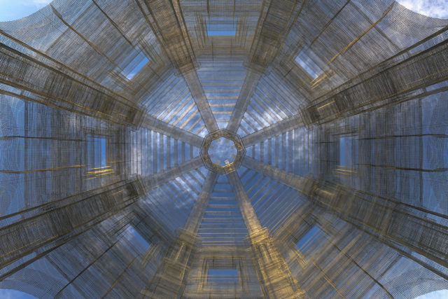 Eduardo Tresoldi dévoile son nouveau projet d'architecture fantôme à Coachella