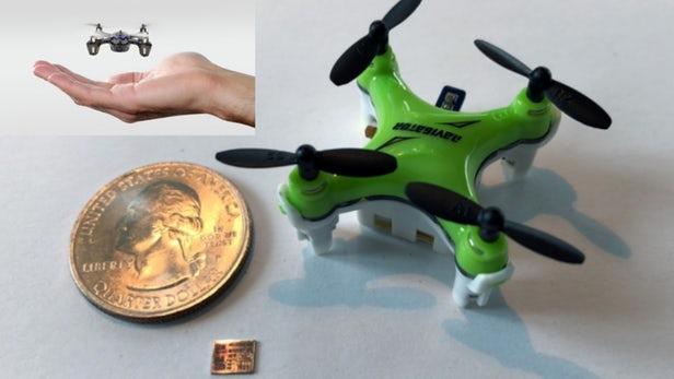 Navion – Une puce minuscule qui va permettre de miniaturiser les drones