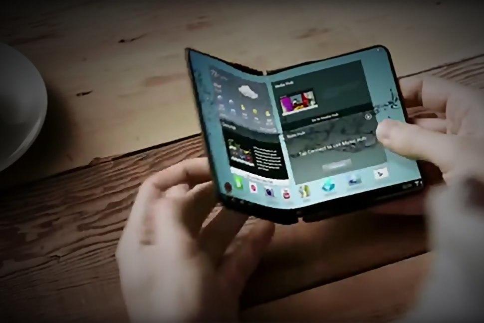 Un téléphone pliable devrait être commercialisé par Samsung l'année prochaine