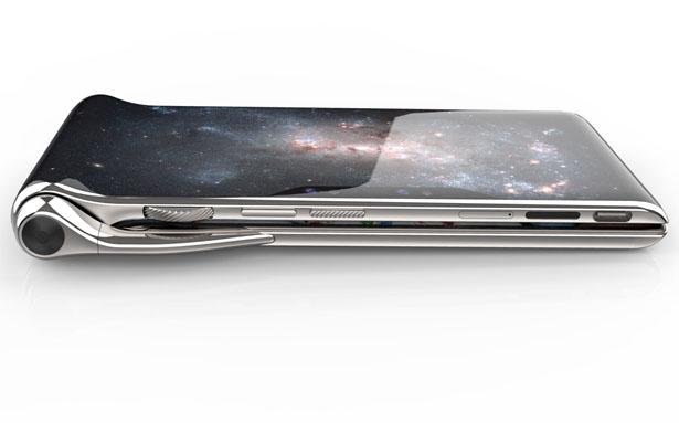HubblePhone – Un smartphone multi-écrans avec technologie de reconnaissance vocale et de lecture labiale