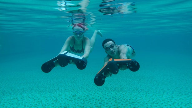 Le scooter sous-marin Trident est le must have de l'été