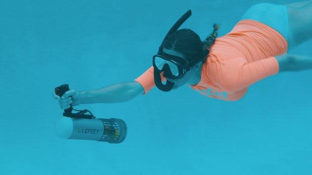 LeFeet propose une approche modulaire des scooters sous-marins