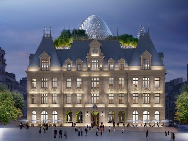 Vincent Callebaut va rénover un ancien Hôtel des Postes de la ville de Luxembourg 1