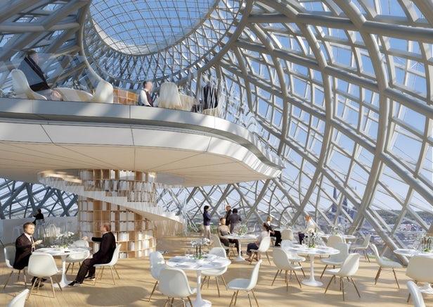 Vincent Callebaut va rénover un ancien Hôtel des Postes de la ville de Luxembourg 2