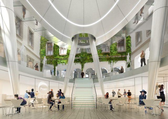 Vincent Callebaut va rénover un ancien Hôtel des Postes de la ville de Luxembourg 3
