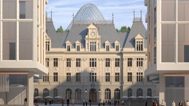 Vincent Callebaut va rénover un ancien Hôtel des Postes de la ville de Luxembourg