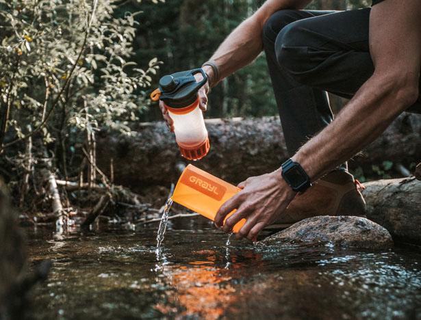 Grayl vient de dévoiler une génération d'épurateur d'eau le Grayl Geopress