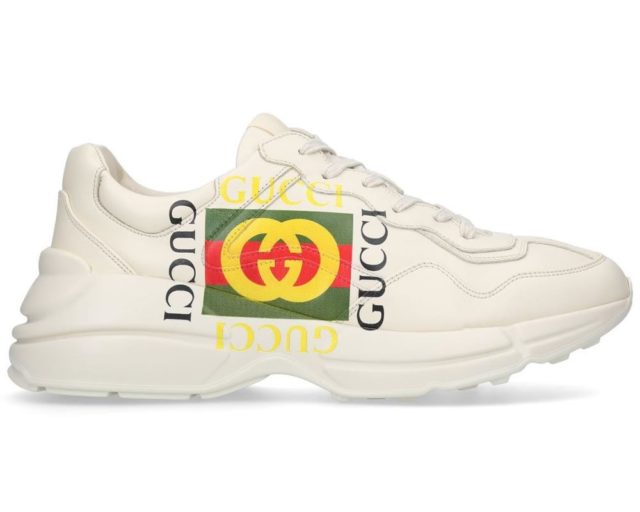 Les baskets chunky Gucci