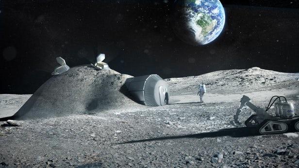 Une mission minière lunaire à l'horizon 2025 organisé par l'Europe