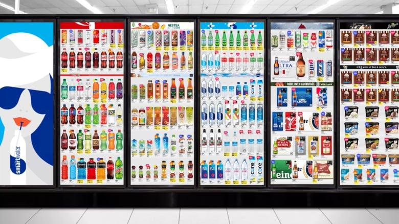Cooler Screens - Walgreens teste des écrans sur ses frigos pour suivre le comportement des clients