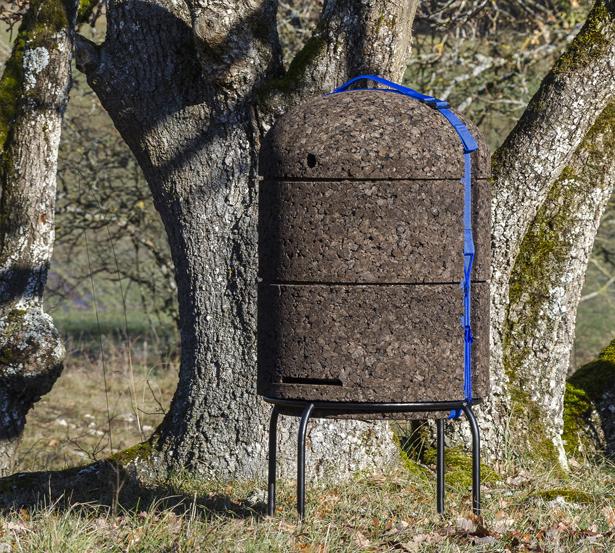 Happy Bees – Une ruche alternative pour fournir un habitat naturel aux abeilles