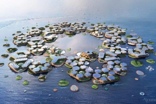 Les villes flottantes seront-elles la norme dans le futur