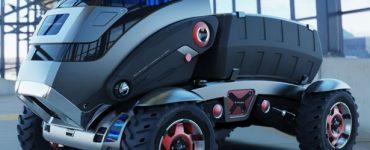 T-Rextor – Un concept de véhicule polyvalent pour l'agriculture par Saharudin Busri