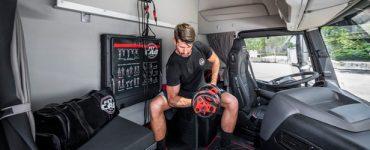 Fit Cab – Iveco dévoile une cabine de camion axée sur la condition physique