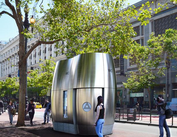 AmeniTREES – Les toilettes kiosques Green-Tech de San Francisco
