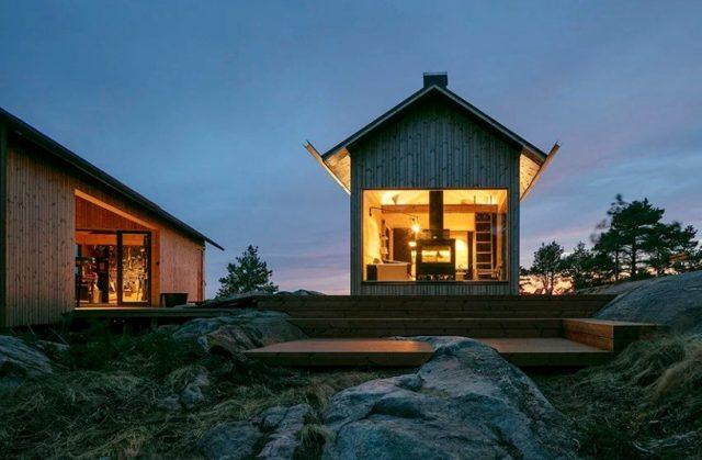 Des maisons avec ossature en bois