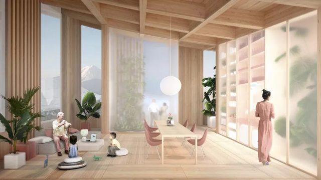 Bjarke Ingels Architects et Toyota imaginent une nouvelle ville intelligente au Japon 1