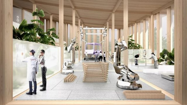Bjarke Ingels Architects et Toyota imaginent une nouvelle ville intelligente au Japon 2