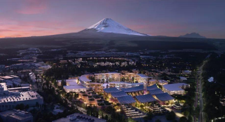 Bjarke Ingels Architects et Toyota imaginent une nouvelle ville intelligente au Japon