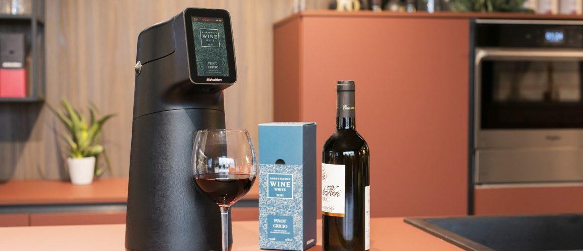 Albicchiere distributeur intelligent sert le vin à la température idéale