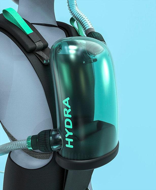 EXOlung dévoile un appareil respiratoire sous-marin compact 1