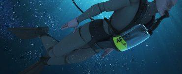 EXOlung dévoile un appareil respiratoire sous-marin compact