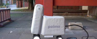 Poimo Un vélo gonflable qui tient dans un sac à dos