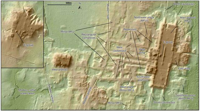 Lidar aide à découvrir une ancienne structure maya d'un kilomètre de long 1